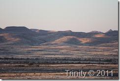 Namibisk landskap
