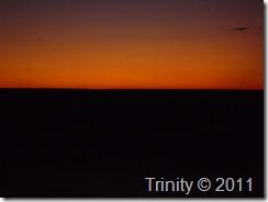 Solnedgang over steppene
