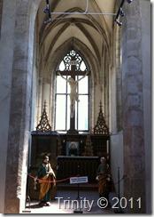 Kapellet i øvre etasje