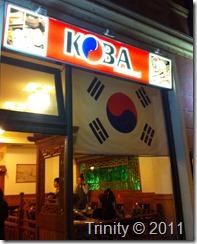 Koba_koreansk_Praha