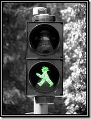 grønn mann