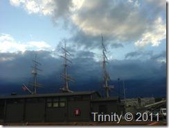 Mørke skyer inn over Oslo