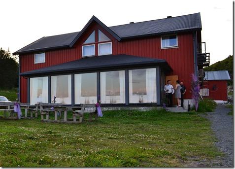festlokalet på sjøsenteret Stokkøya