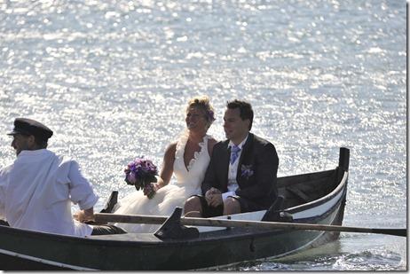 brudeparet i robåten
