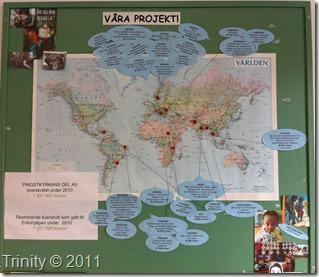 Erikshjälpens prosjekter og hjelpeområder