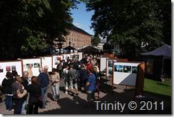 100 meter utstilling med ulike fotografer representert