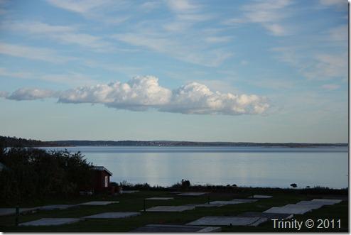 En sky over horisonten