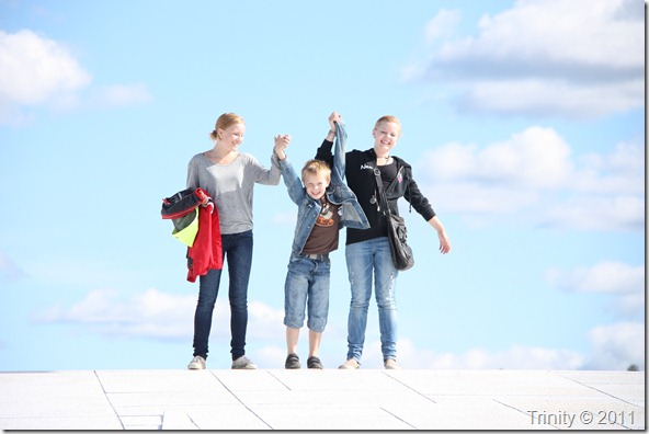 Barna følte seg som engler da de så dette bildet - og det er himmel på jord å få være sammen med barn