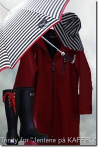Regntøy for gode følelser på en regntung dag fra Blæst ByLillebøe