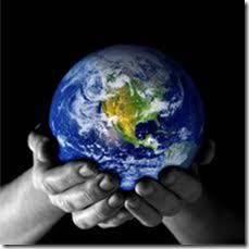 Husk å sende kjærlighet til hele jorden