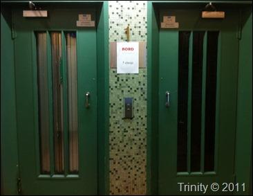 Inn en dør og opp med heisen - der var NORDphotography's lokaler denne gangen
