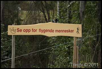 Se opp for flygende mennesker hos Høyt og Lavt