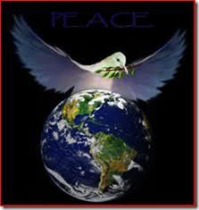 Fredsdue er et av symbolene for fred. La freden hvile over vår planet