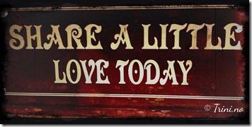 Øs ut den kjærligheten du er og har og du vil motta enda mer kjærlighet