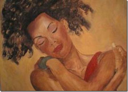 Jeg fant dette vakre bildet som virkelig viser hvordan du kan behandle deg selv på slik du ønsker at andre skal behandle deg - reachinghurtingwomen.blogspot.com