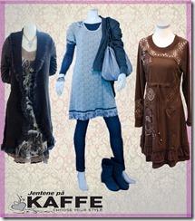 Tre av høstens antrekk hos Jentene på Kaffe i Horten