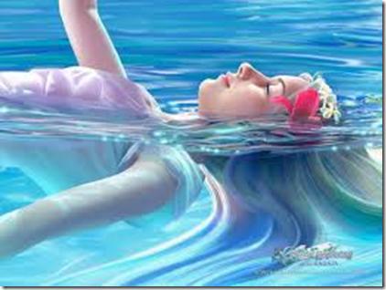 Når du er non-resistant (ikke-resistent) følese det som å flyte på vann