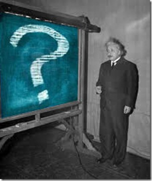 Når Albert Einstein stiller spørsmålet og kjenner til Loven om tiltrekning er det vel på tide å lytte til den intellektuelle?