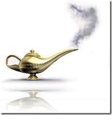 som Aladdins ånd i lampen vil Universet bringe alle dine ønsker til deg gjennom loven om tiltrekning