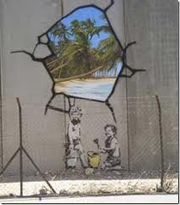 banksy - graffitiartister tenker ofte annerledes