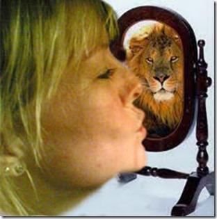my power within_min indre styrke er styrken til en løve
