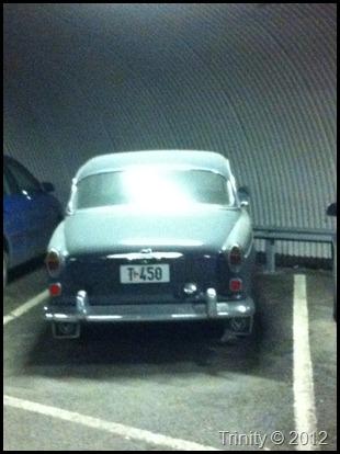 Den som har fått parkeringsplass har forventet å finne en og fant en