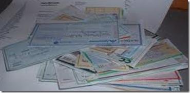 Når regninger blir til sjekker i følelsene dine vil pengene strømme inn