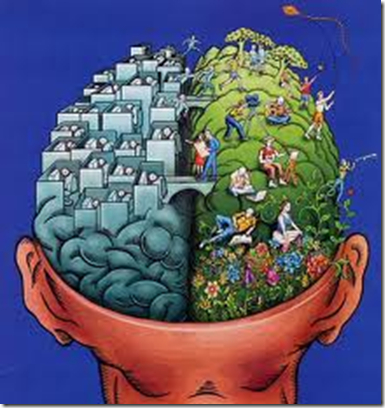 En hjernehalvdel aksepterer at Universet leverer ut fra tankene og følelsene mine, den andre halvdelen sliter med å akseptere at det er så enkelt. Så enkelt og så vanskelig.
