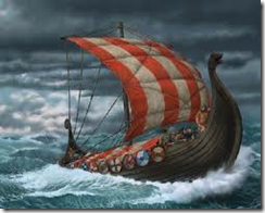 Vikinglov § 1 Vær modig og aggressiv.