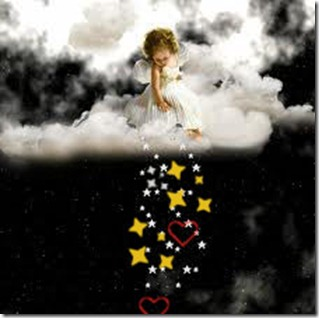Min Engel skal så alt det jeg ønsker meg over meg