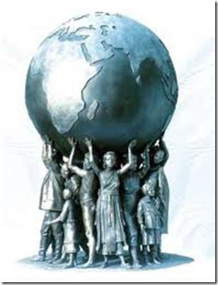 Vi kan endre vår verden ved å ha oppmerksomheten vår på tillit, kjærlighet, utdanning og fred