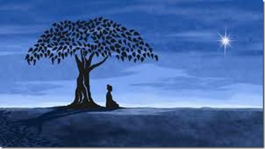 Inspirert handling knyttes ofte opp mot meditasjon og indre reise - bildet er hentet fra: ahnalira-connectedcounsel.com