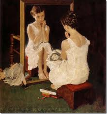 Girl in Mirror - Piken i speilet
