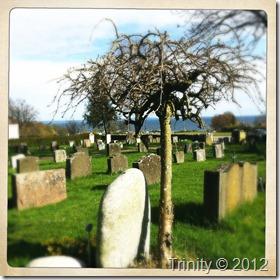 Hva føler du når du ser en grav, eller en gravplass?