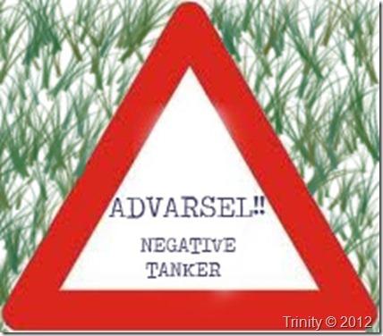 negative tanker