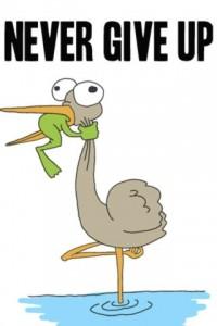 Gi aldri opp - du kan ta kontroll over deg selv - det er bare opp til DEG